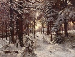 Winter Landscape | William Preston Phelps | Oil Painting