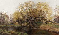 Wooded Landscape | William Preston Phelps | Oil Painting