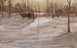 Winter | William Preston Phelps | Oil Painting