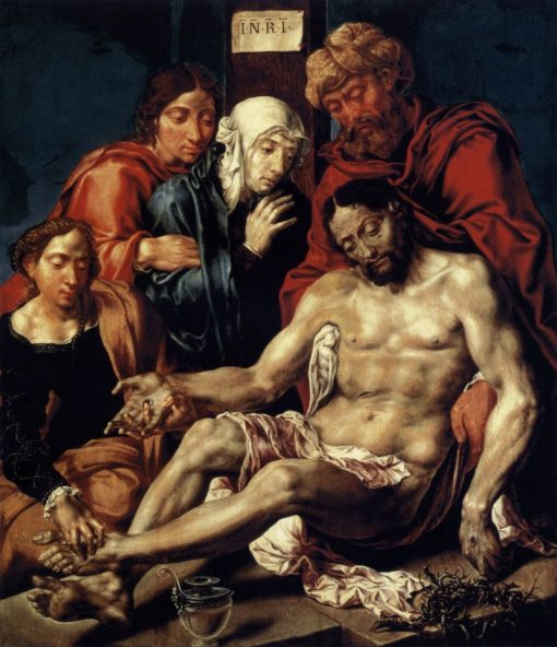 Lamentation of Christ | Maerten van Heemskerck | Oil Painting