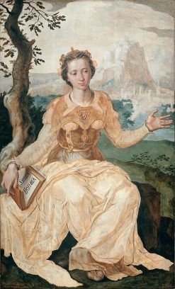 The Erythraean Sibyl   Maerten van Heemskerck   Oil Painting