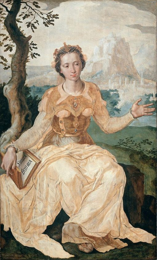 The Erythraean Sibyl | Maerten van Heemskerck | Oil Painting