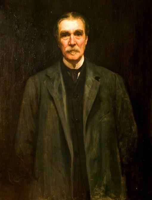 Captain Philip Blundell Bicknell | Hubert von Herkomer | Oil Painting