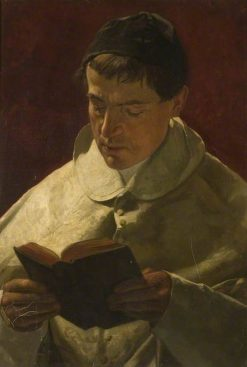 Cardinal Roti | Hubert von Herkomer | Oil Painting