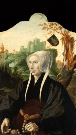 Portrait of Emmetje Teunisdr. van Souburgh | Maerten van Heemskerck | Oil Painting