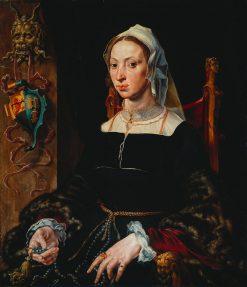 Portrait of Machtelt Suijs | Maerten van Heemskerck | Oil Painting