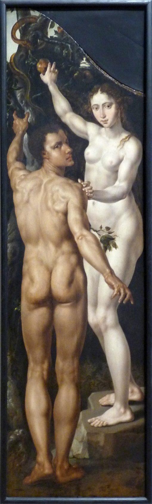 Adam and Eve | Maerten van Heemskerck | Oil Painting