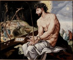 Christ in Agony | Maerten van Heemskerck | Oil Painting