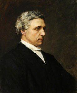 Charles Lutwidge Dodgson (Lewis Carroll) | Hubert von Herkomer | Oil Painting