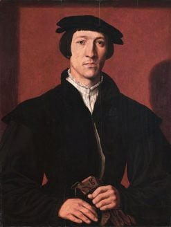 Portrait of a Man | Maerten van Heemskerck | Oil Painting