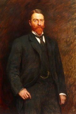Charles Rube | Hubert von Herkomer | Oil Painting