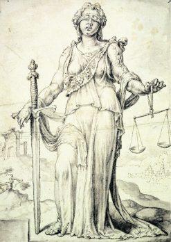 Justice | Maerten van Heemskerck | Oil Painting
