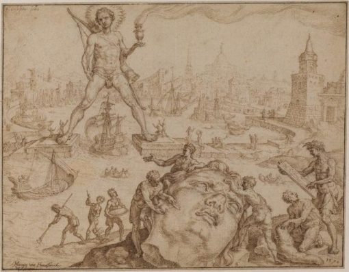 Colossus of Rhodes | Maerten van Heemskerck | Oil Painting