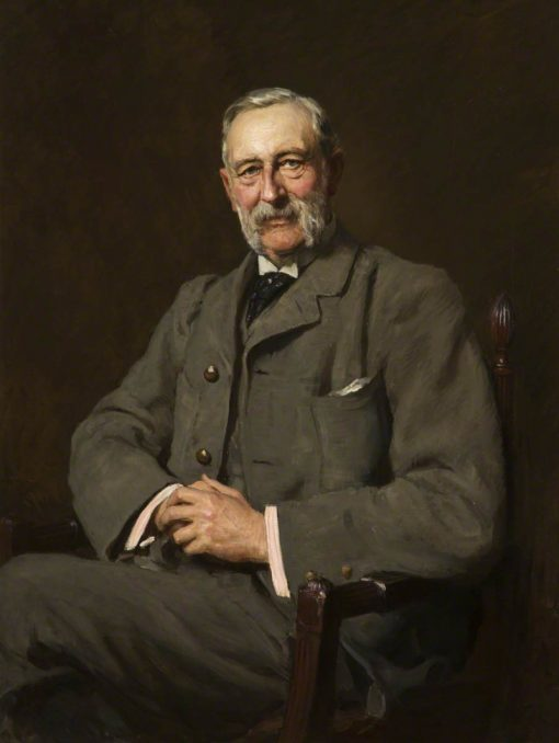 Colonel Oliver Ormerod Walker | Hubert von Herkomer | Oil Painting
