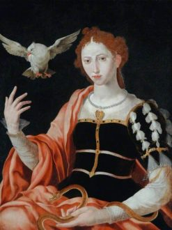 An Allegory of Innocence and Guile | Maerten van Heemskerck | Oil Painting