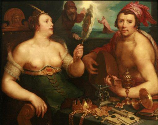Allegory of Repentance | Cornelis van Haarlem | Oil Painting
