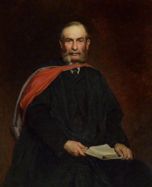 E. J. Routh | Hubert von Herkomer | Oil Painting