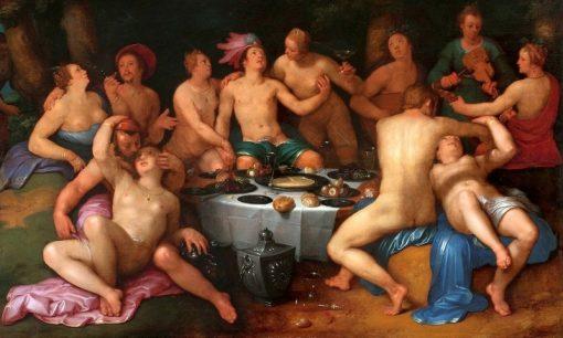 Before the Deluge | Cornelis van Haarlem | Oil Painting