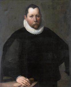 Portrait of Pieter Jansz. Kies | Cornelis van Haarlem | Oil Painting
