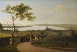 View over the Lesser Belt | Jens Juel | Oil Painting
