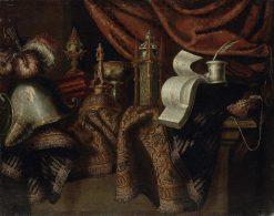 Still Life with a Helmet | Francesco Fieravino | Oil Painting