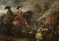The Battle of Nördlingen | Jan van den Hoecke | Oil Painting
