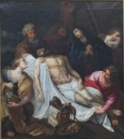 Descent from the Cross | Jan van den Hoecke | Oil Painting