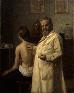 Portrait of Dr. Salomon Ehrmann   Lazar Krestin   Oil Painting