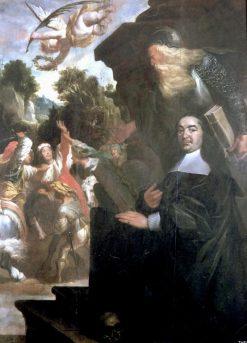 Portrait of Wilhelm Lovius   Johann Hulsman   Oil Painting