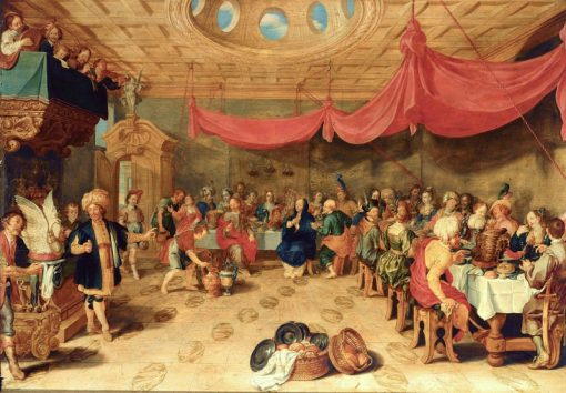 The Marriage Feast at Cana | Johann Hulsman | Oil Painting