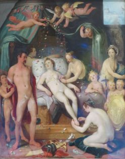 Mars and Venus | Cornelis van Haarlem | Oil Painting