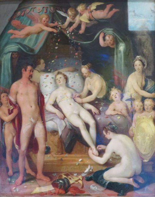 Mars and Venus | Cornelis van Haarlem | Oil Painting