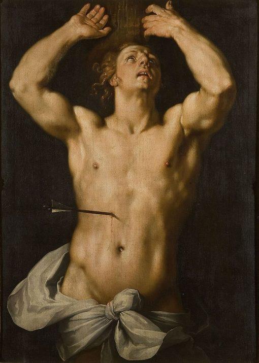 St. Sebastian | Cornelis van Haarlem | Oil Painting