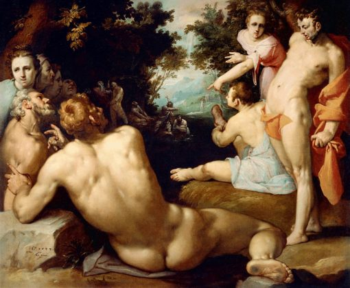 The Baptism of Christ | Cornelis van Haarlem | Oil Painting