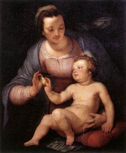 Madonna and Child | Cornelis van Haarlem | Oil Painting