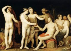 The Judgment of Paris | Cornelis van Haarlem | Oil Painting