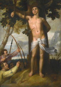 Martyrdom of St. Sebastian | Cornelis van Haarlem | Oil Painting