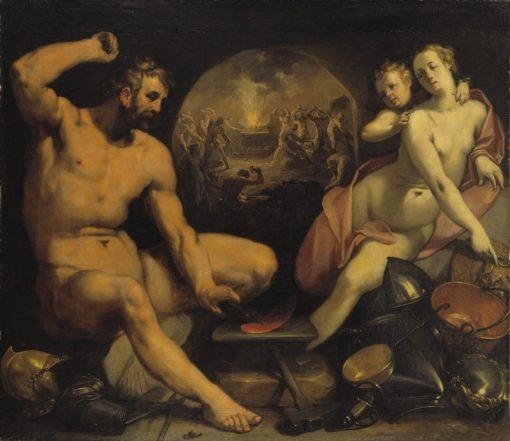 Venus and Vulcan | Cornelis van Haarlem | Oil Painting