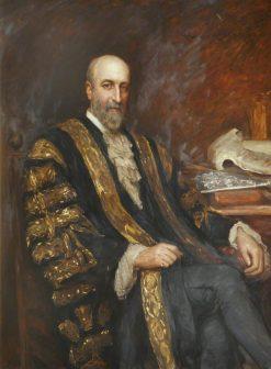 Francis Henry Jeune | Hubert von Herkomer | Oil Painting