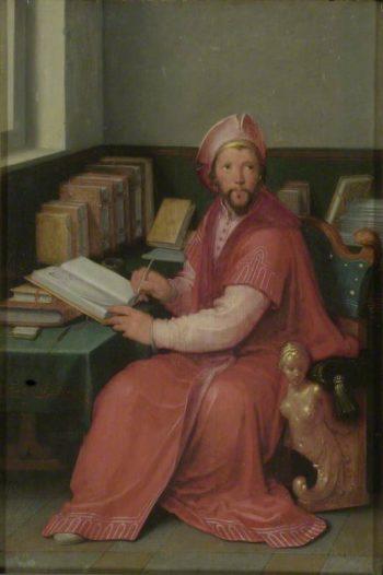 A Scholar in his Study | Cornelis van Haarlem | Oil Painting