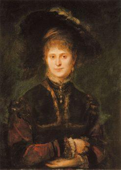 Magdalena Plach | Franz von Lenbach | Oil Painting
