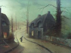 Moonlight Scene | Wilfred Jenkins | Oil Painting