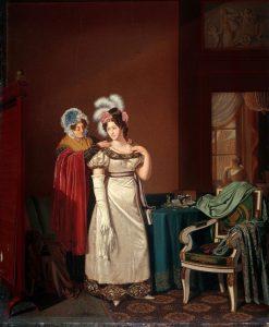 The Toilet | Jan Lodewijk Jonxis | Oil Painting