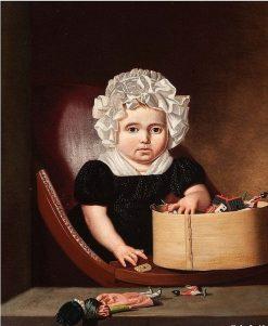 Portrait of a Child | Jan Lodewijk Jonxis | Oil Painting