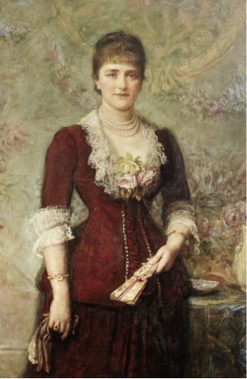 Portrait of Lucy Stern   John Everett Millais   Oil Painting