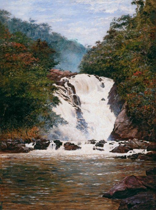 Votorantim Waterfall | Jose Ferraz de Almeida Junior | Oil Painting