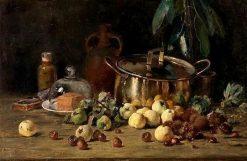 Still Life with Fruit | Eugène Joors | Oil Painting