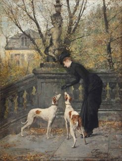 Before the Ride | Eugène Joors | Oil Painting