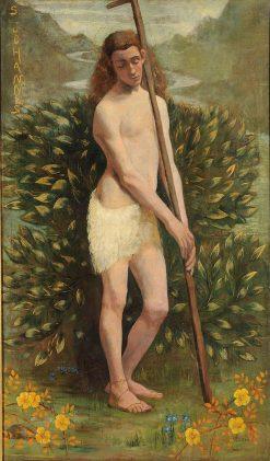 Saint John the Baptist | Eugène Joors | Oil Painting