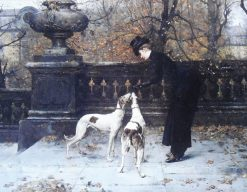 The Reward | Eugène Joors | Oil Painting